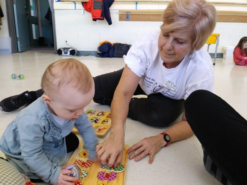 Programme de la petite enfance au CRCBV